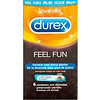 Durex Feel Fun - 6 condooms assortiment