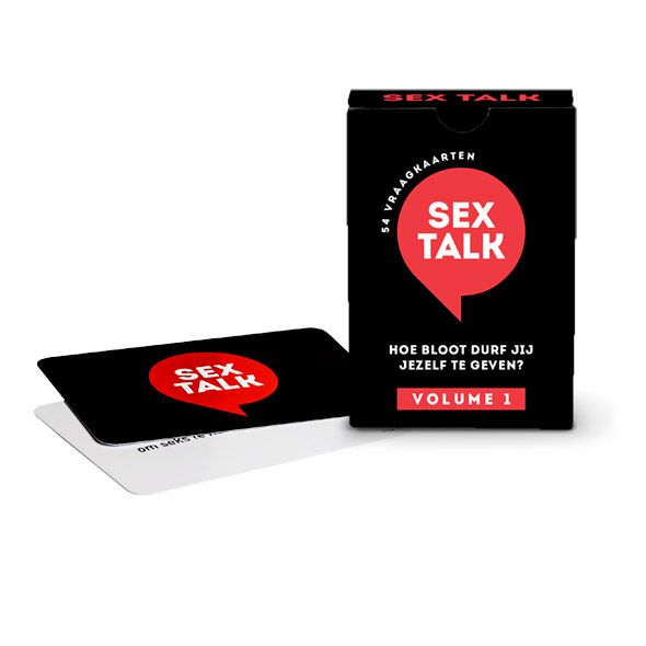 Tease & Please Sex Talk - 54 Vraagkaarten