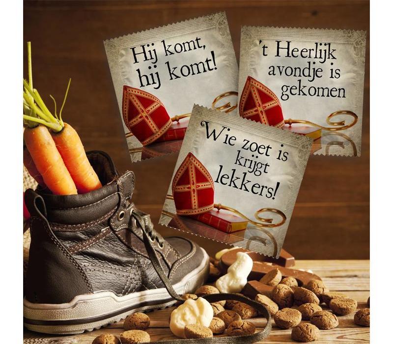 3 Sinterklaas condooms ondeugende surprise