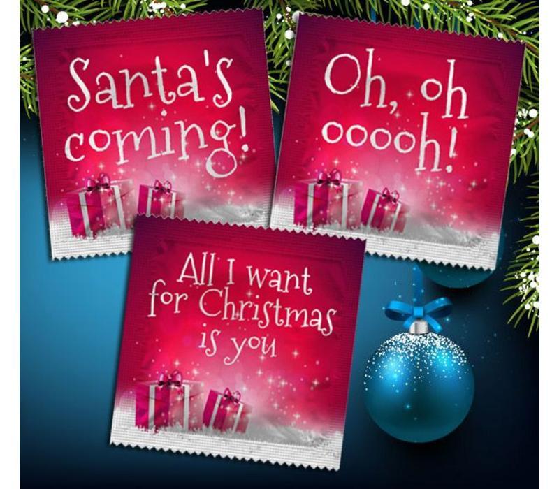 Ondeugende Kerst condooms