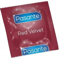 Pasante Red Velvet rode condooms