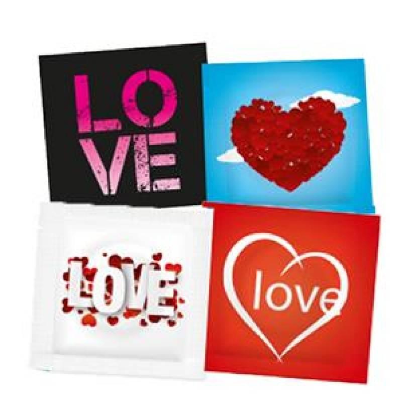 Pasante Love Condooms 12 stuks (zonder doosje)