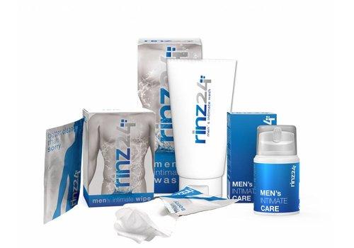Rinz24 Men's Intimate package (Wash, Wipes & Balsem)