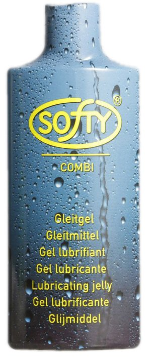 Condoom Anoniem Softy Combi - Glijmiddel Op Waterbasis - 200ml