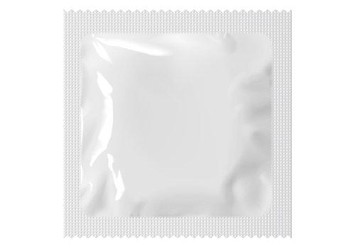 Pasante Condooms witte folie grootverpakking