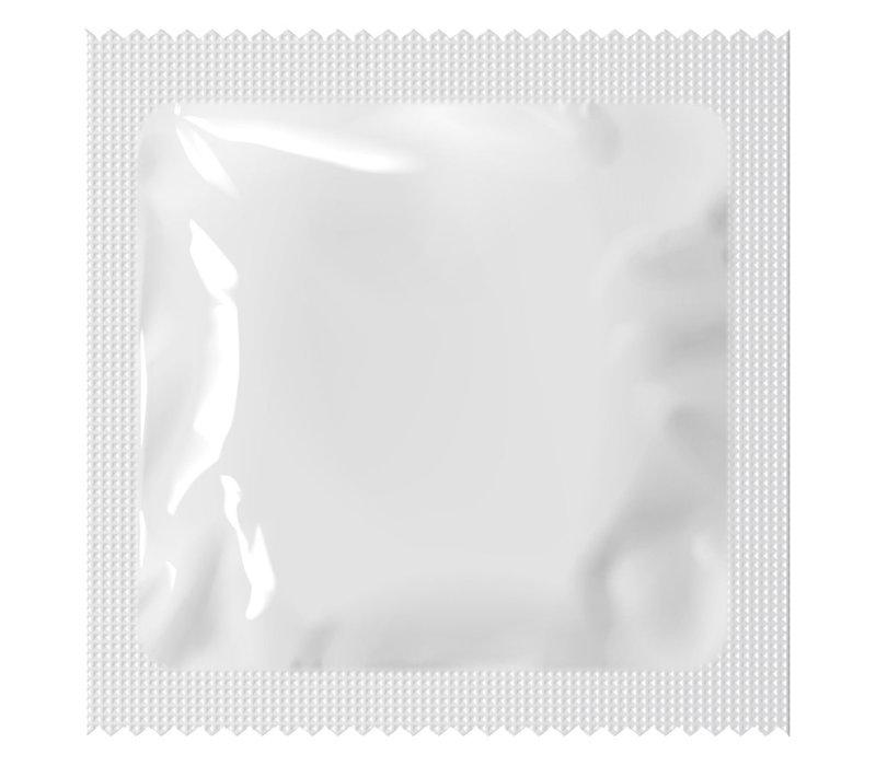 Condooms blanco  folie grootverpakking