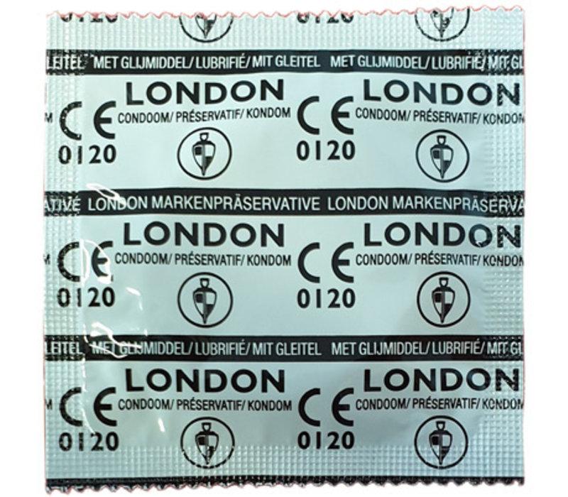 London Q600 - 1000 condooms (Glyder Ambassador)