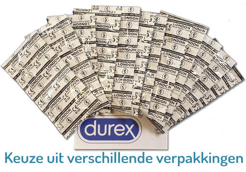 Durex London Q600 condooms