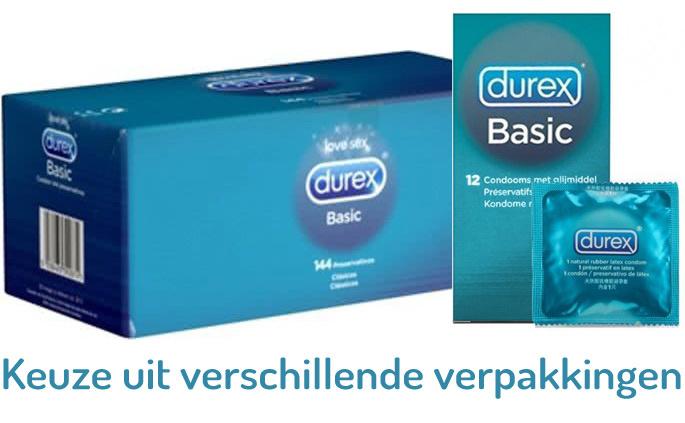 Durex Basic Condooms 72 stuks (grootverpakking)