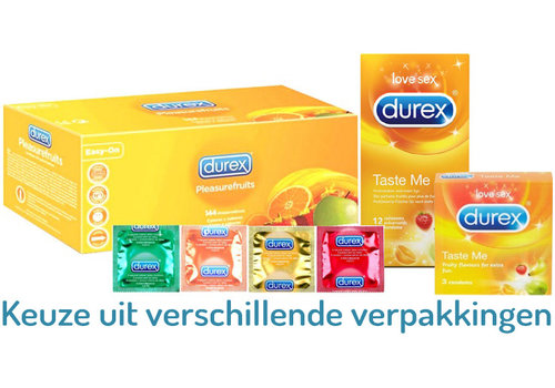 Durex Taste Me - Select Flavours