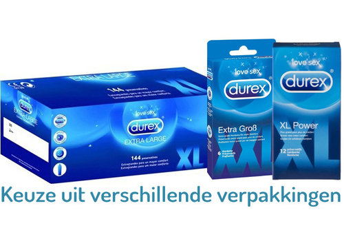 Durex XL Power condooms