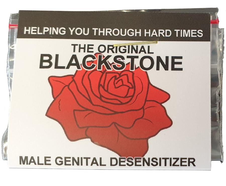 Condoom Anoniem The Original Blackstone - Orgasme Uitstellen