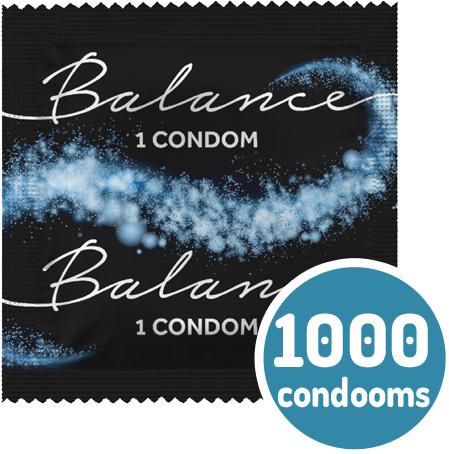 Balance 1000 Condooms Bulkverpakking