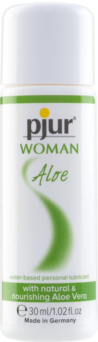 Pjur Woman Aloe Vera Glij- En Massagemiddel Op Waterbasis Voor De Vrouw 30ml