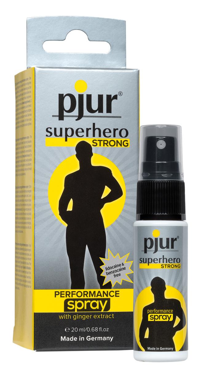 Pjur Superhero STRONG Performance Spray (20ml)