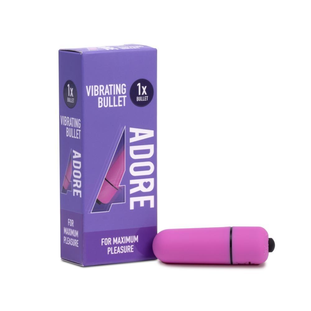 Adore Vibrating Bullet Mini Vibrator
