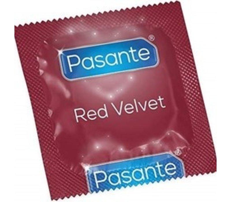 Red Velvet rood condoom