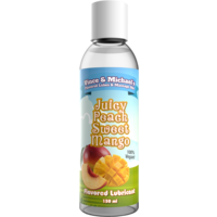 Swede Vince & Michaels's Juicy Peach Sweet Mango flavored lubricant (150ml)