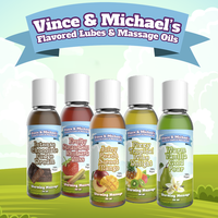 Vince & Michael's Warm Vanilla Gold Pear flavored warming massage lotion (150ml)
