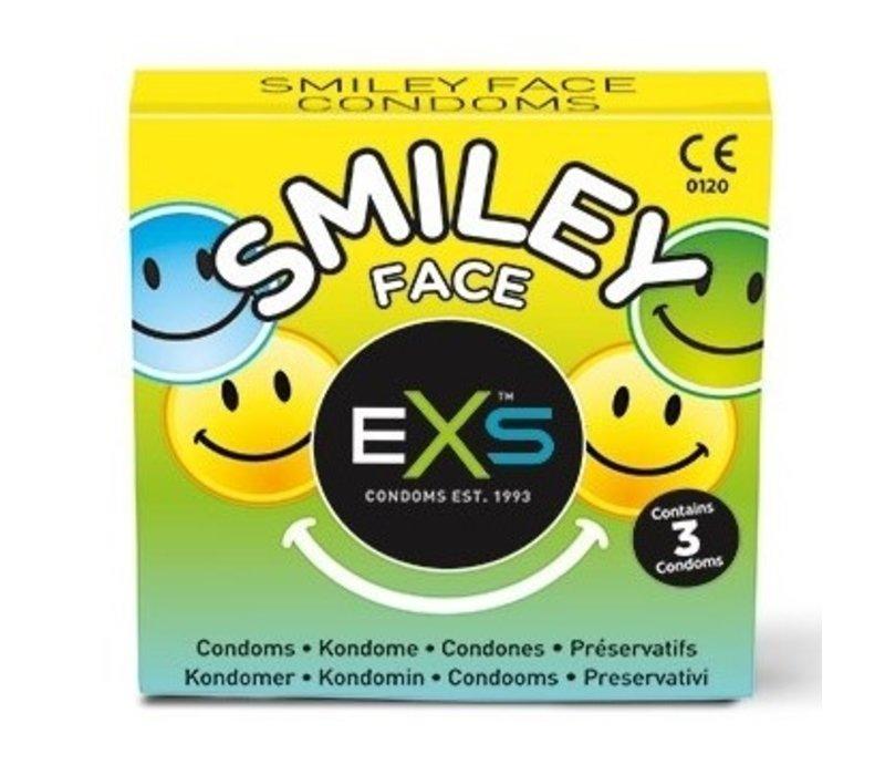 Smiley Face condooms met ruimere top