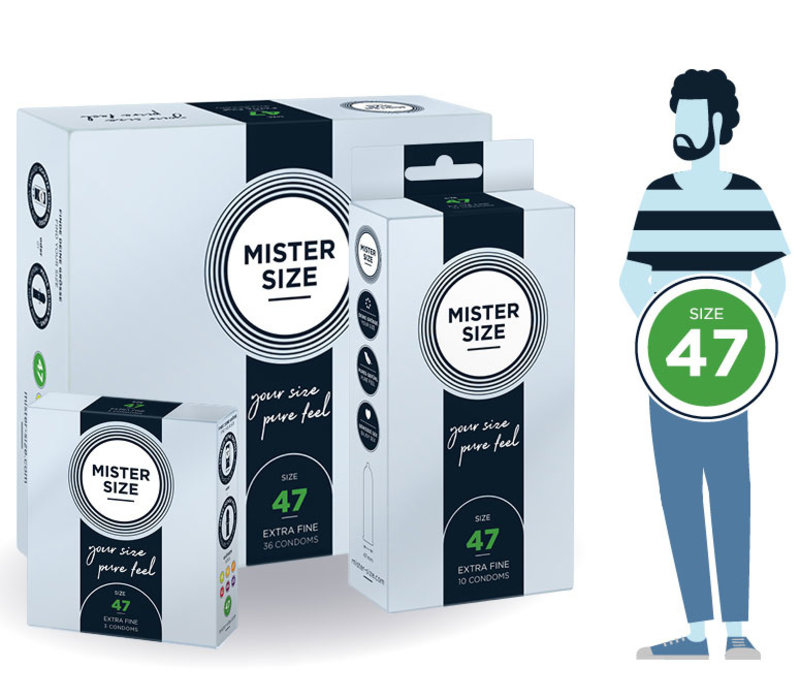 47 - smallere condooms ultradun