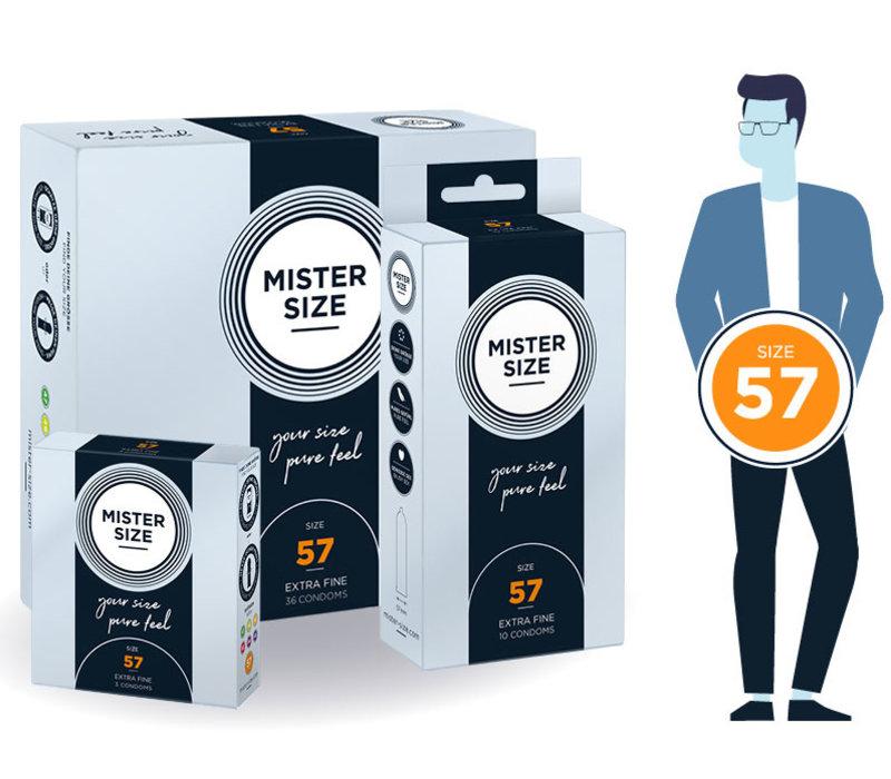 57 - iets ruimere condooms ultradun