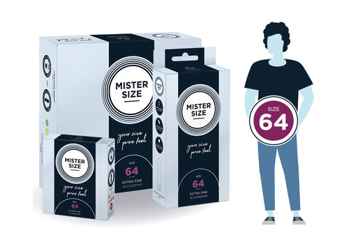 Mister Size 64 - ultra dun
