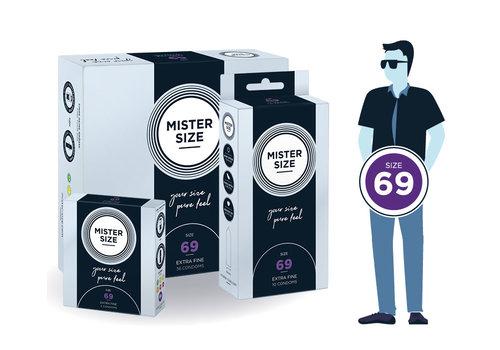 Mister Size 69 - ultra dun