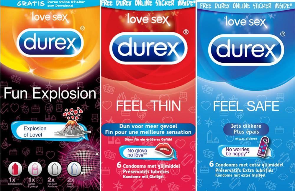 Durex Feel Trio - Assortiment 18 Condooms