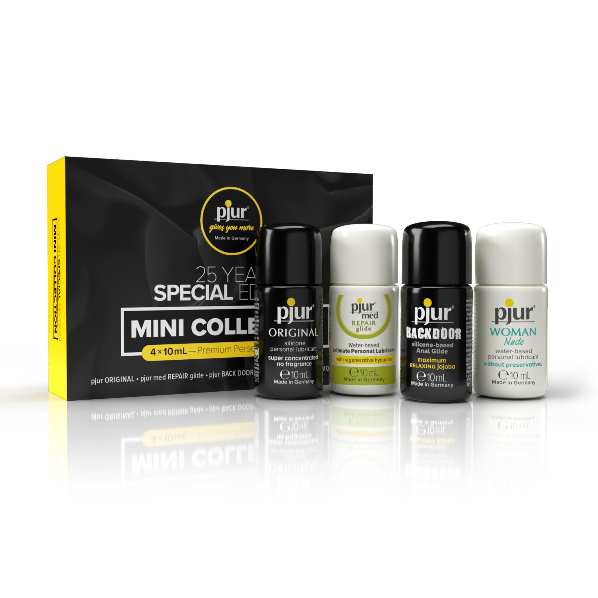 Pjur Mini Collection Limited Edition 4x Glijmiddel