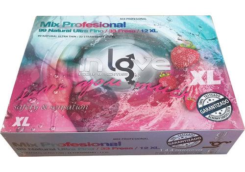 Unilatex In Love Mix Professional 144 condooms