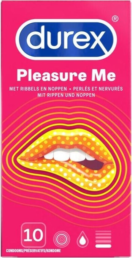 Durex Pleasure Me Condooms 10 stuks