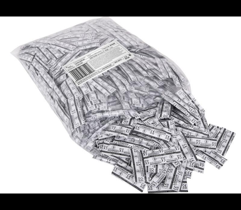 London Q600  condooms (rechthoekige folie)