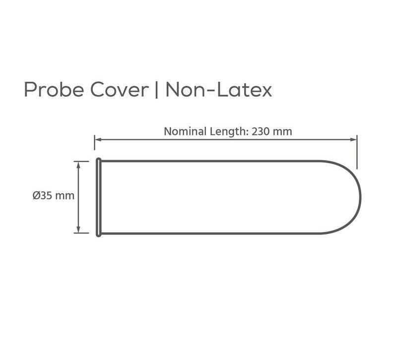 Echo Sonde beschermers (Probe covers) Ø 35 mm - 72 condooms voor echoscopie transducer