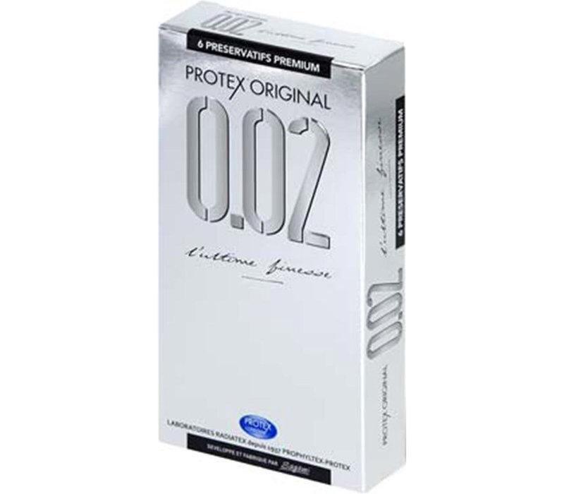 Protex Original 6 latexvrije ultradunne condooms