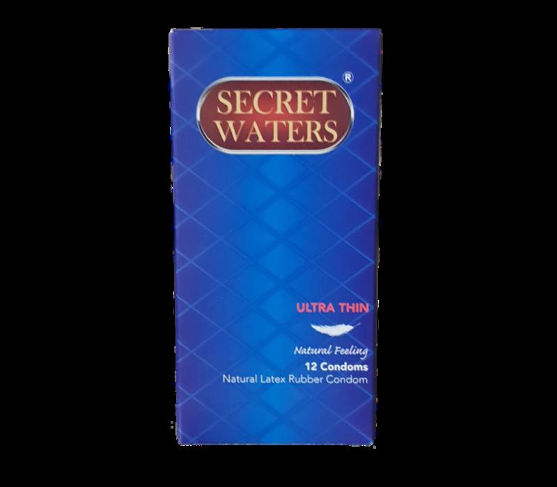 Ultra Thin 12 condooms met glijmiddel op waterbasis