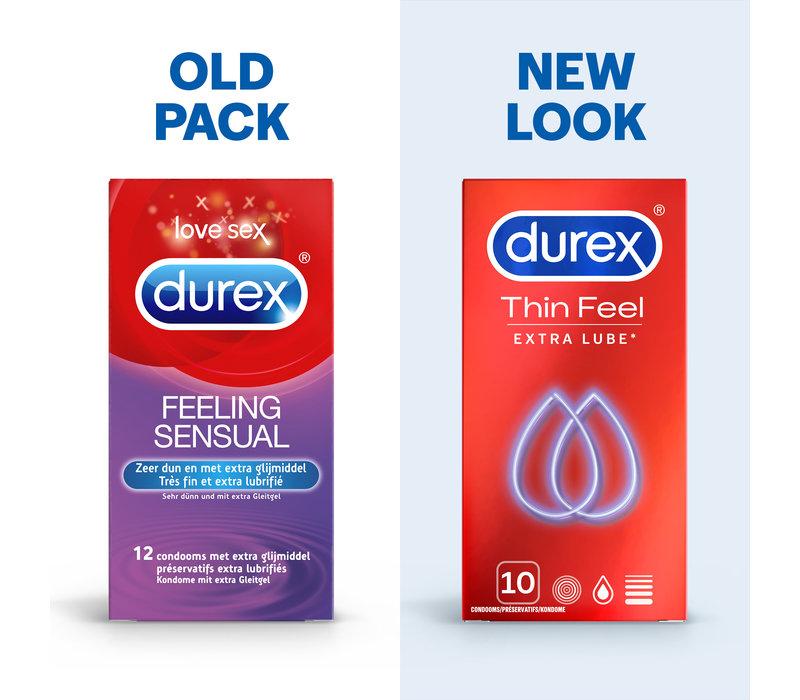 Thin Feel (Extra Lube) condooms