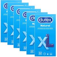 Natural XL 60mm bredere condooms