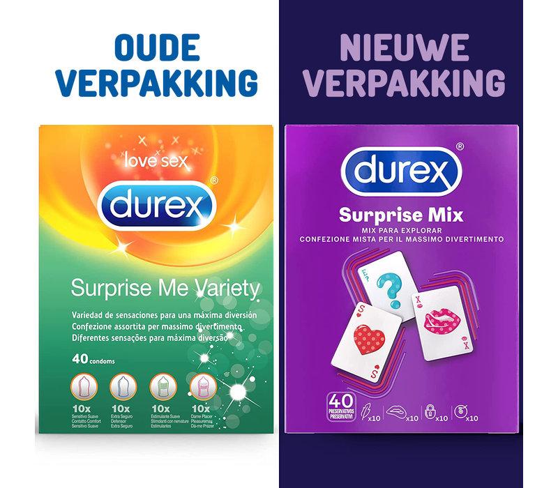 Surprise Me Mix  - assortiment van 40 condooms