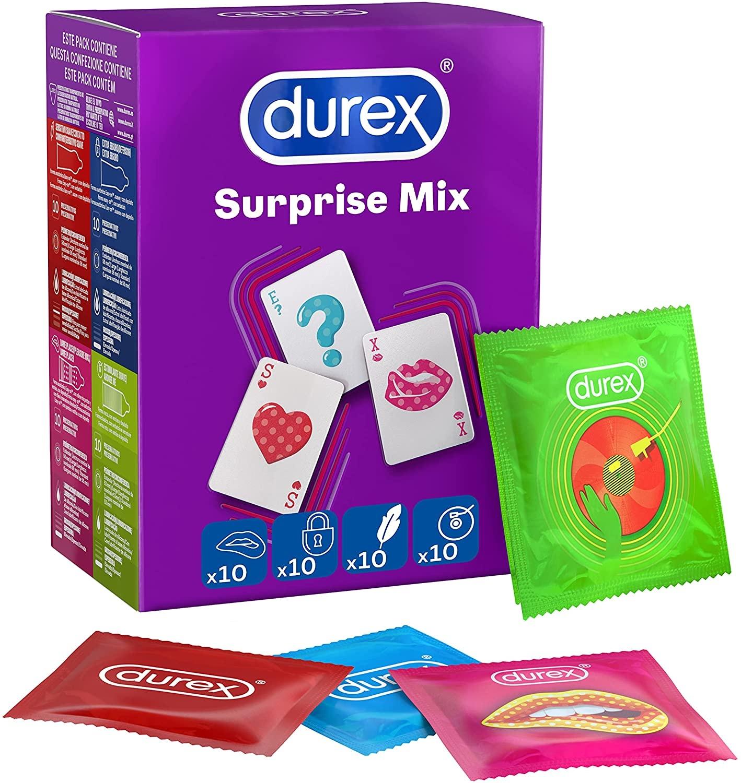 Durex Surprise Me Mix - Assortiment Van 40 Condooms