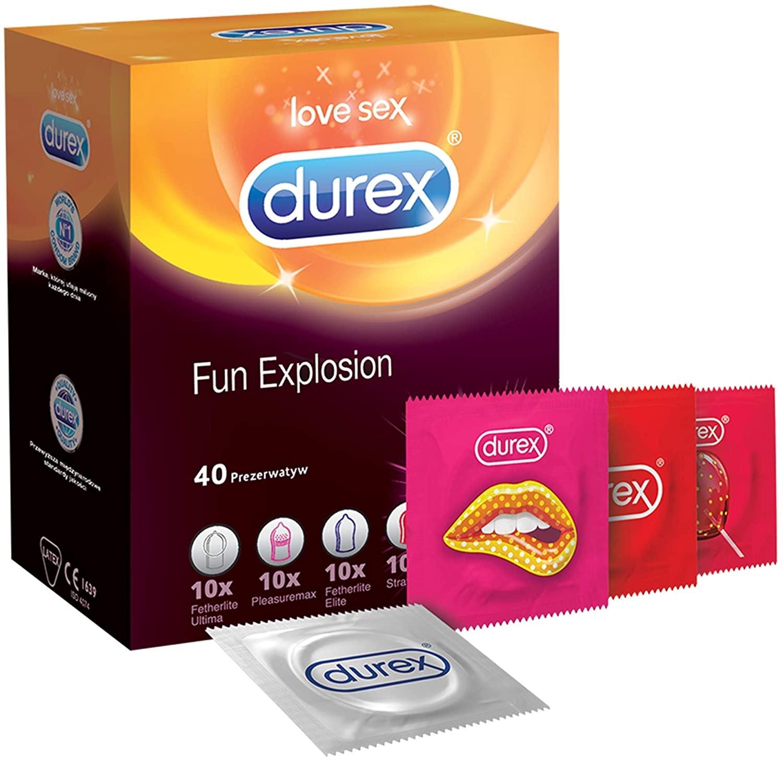 Durex Fun Explosion - 40 Condooms Assortiment
