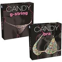 Candy Bra en String - snoep lingeriesetje