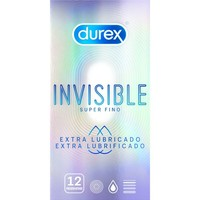 Invisible 12 ultra dunne condooms met extra glijmiddel