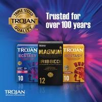Double Ecstasy 10 condooms met extra stimulatie