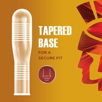 Ecstasy Ultra Ribbed 10 condooms met ribbels voor extra stimulatie