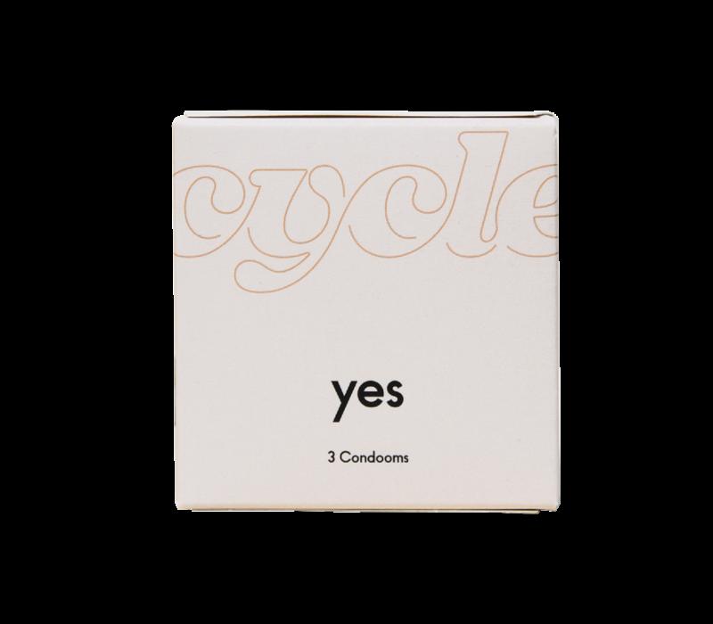 Yes 3 vegan condooms
