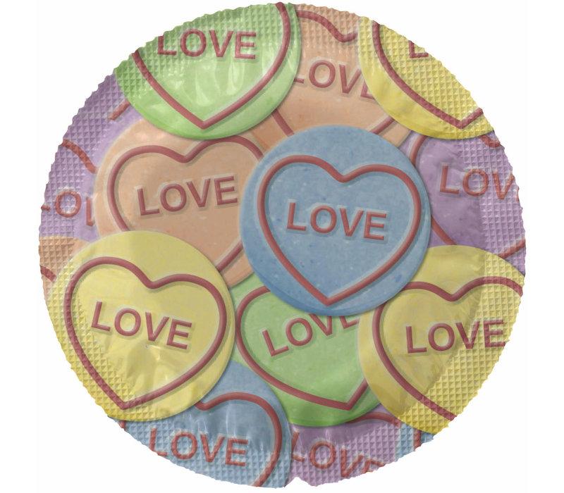 Love Mix - 4 condooms in ronde folies
