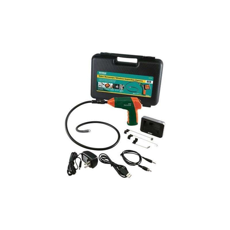 EXTECH BR250 Vidéo-endoscope / camera d'inspection sans fil