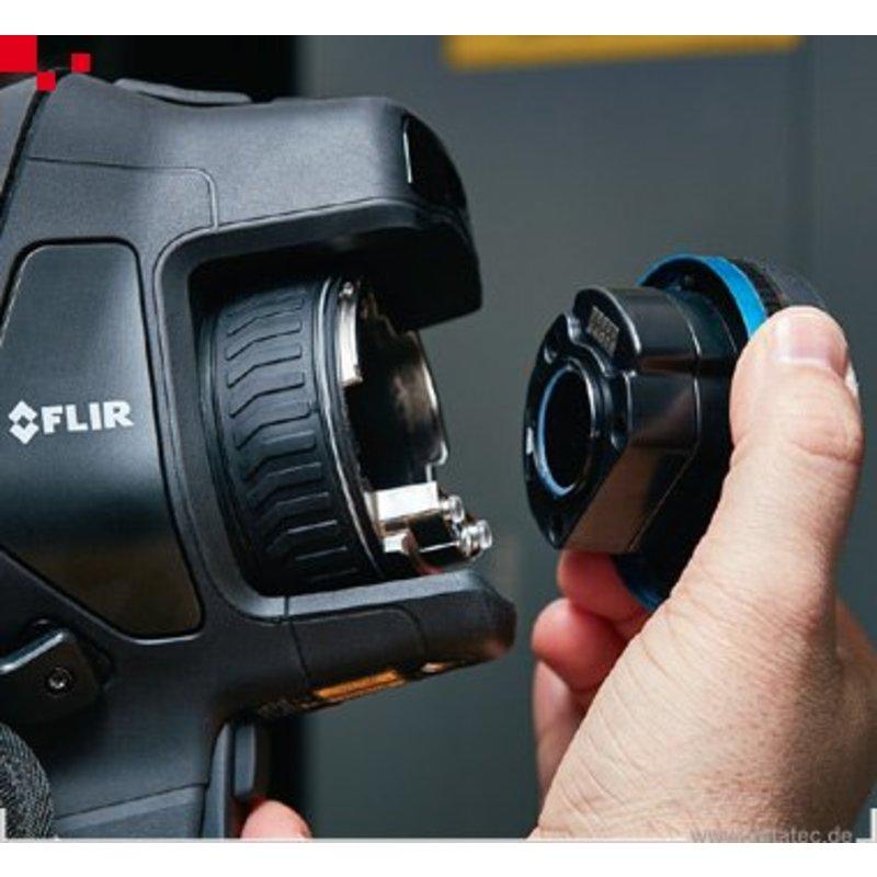 FLIR Exx serie single lens: 14º x 10º (29mm Lens)
