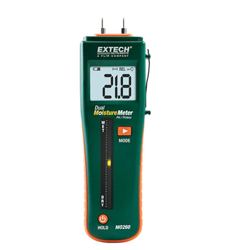 EXTECH MO260 Dubbele Vochtmeter